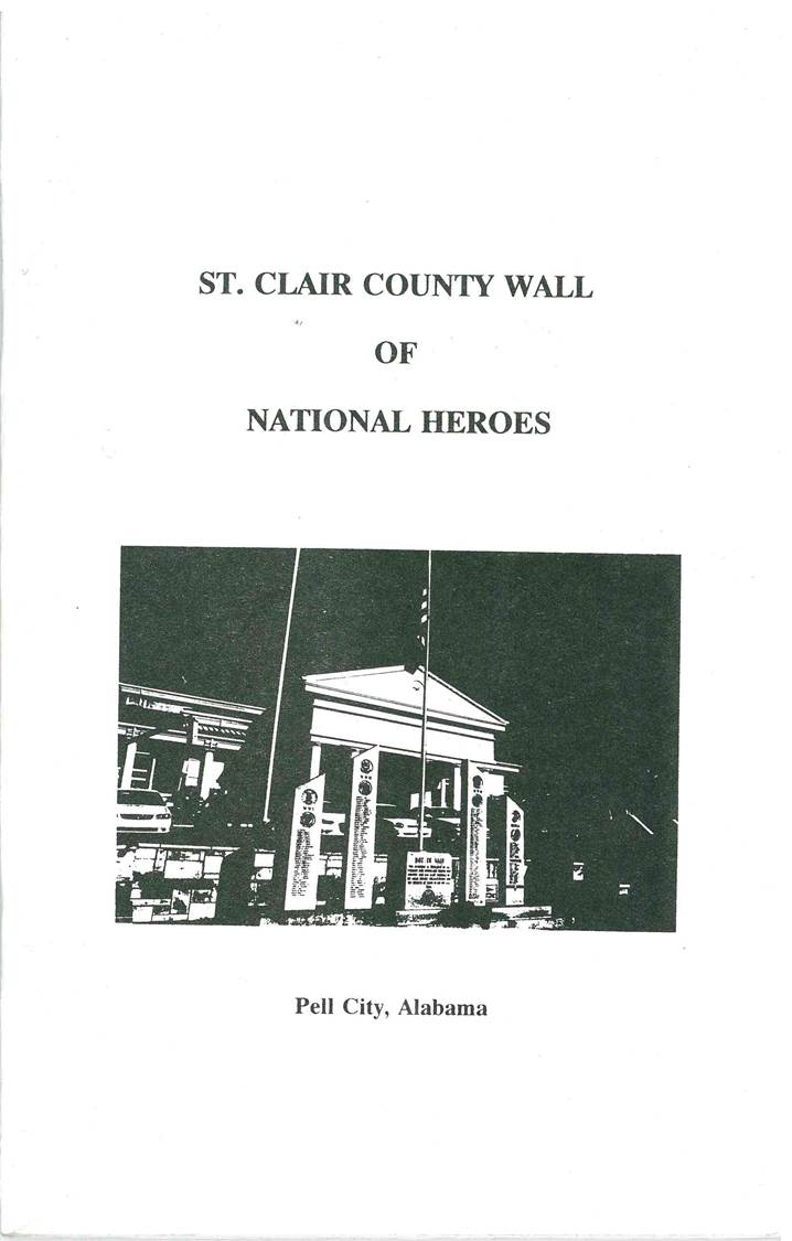 Alabama saint clair county odenville - St Clair County Wall Of National Heroes Pell City Alabama